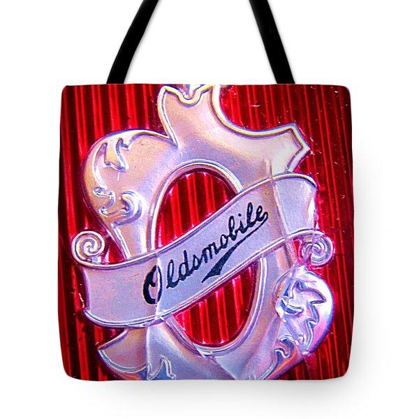 Oldsmobile Emblem. Tote Bag