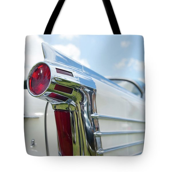 Oldsmobile Tail Tote Bag by Helen Northcott