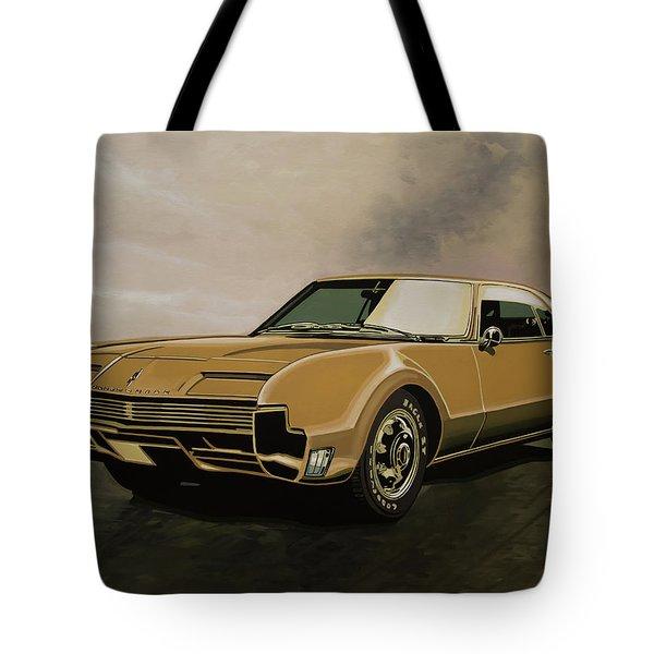 Oldsmobile Toronado 1965 Painting Tote Bag