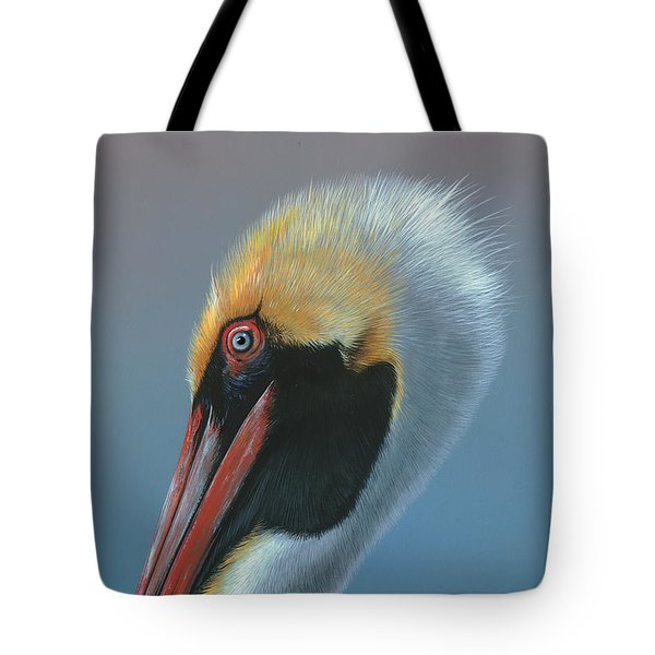 Ole Blue Eyes Tote Bag