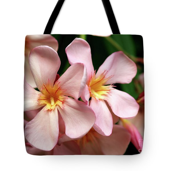 Tote Bag featuring the photograph Oleander Dr. Ragioneri 2 by Wilhelm Hufnagl