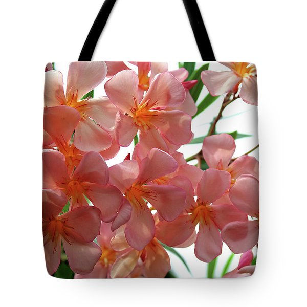 Tote Bag featuring the photograph Oleander Dr. Ragioneri 4 by Wilhelm Hufnagl