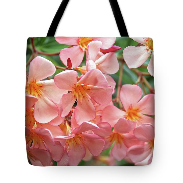 Tote Bag featuring the photograph Oleander Dr. Ragioneri 5 by Wilhelm Hufnagl