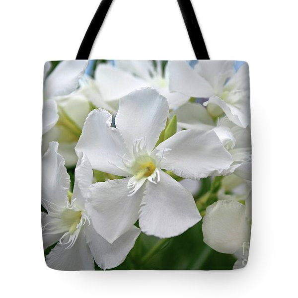 Oleander Ed Barr 3 Tote Bag