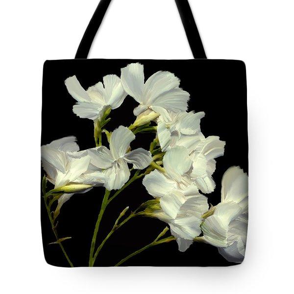 Oleander Tote Bag by Kurt Van Wagner