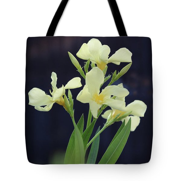 Tote Bag featuring the photograph Oleander Marie Gambetta 2 by Wilhelm Hufnagl