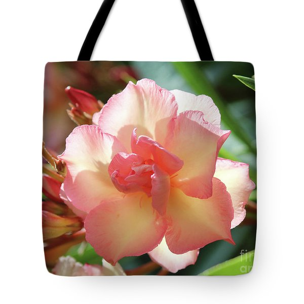 Oleander Mrs. Roeding 1 Tote Bag
