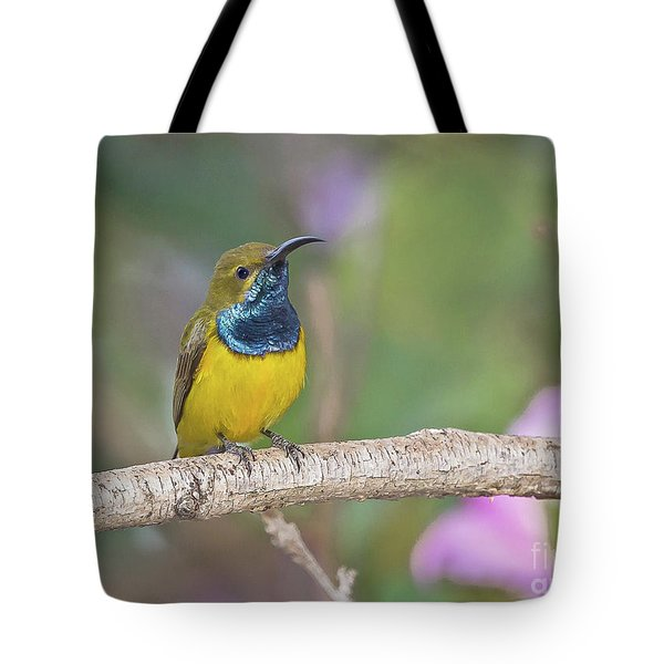 Olive-backed Sunbird Tote Bag