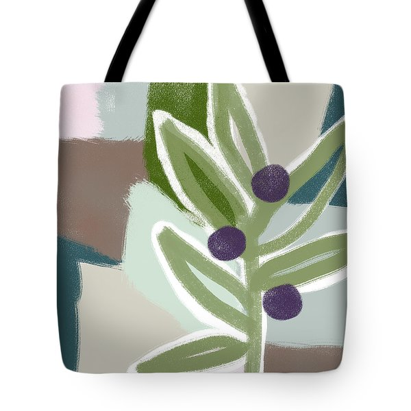 Olive Branch 2- Art By Linda Woods Tote Bag