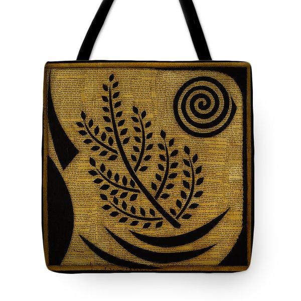 Tote Bag featuring the mixed media Olive Branch by Gloria Rothrock