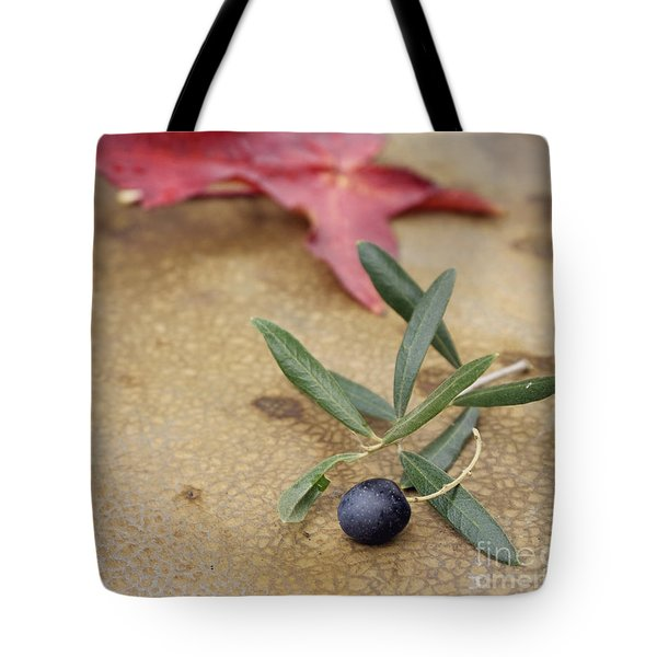 Tote Bag featuring the photograph Olive by Cindy Garber Iverson