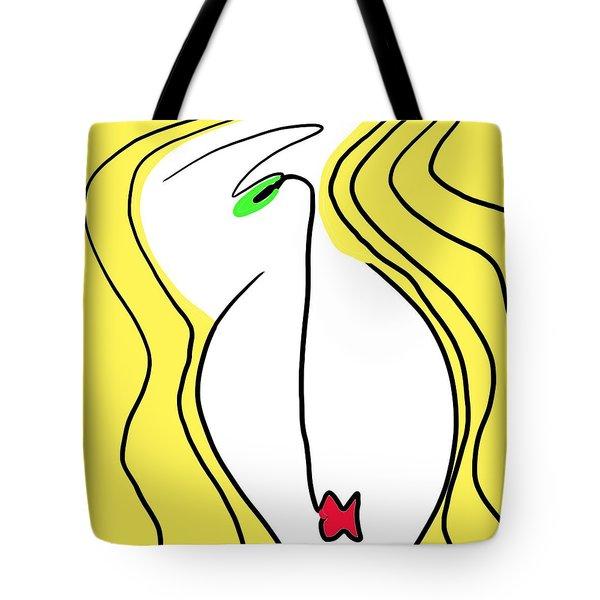 Olive Eye Tote Bag