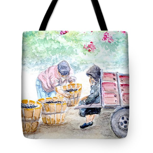 Olive Pickers Tote Bag