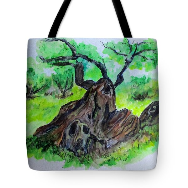 Olive Tree Tote Bag