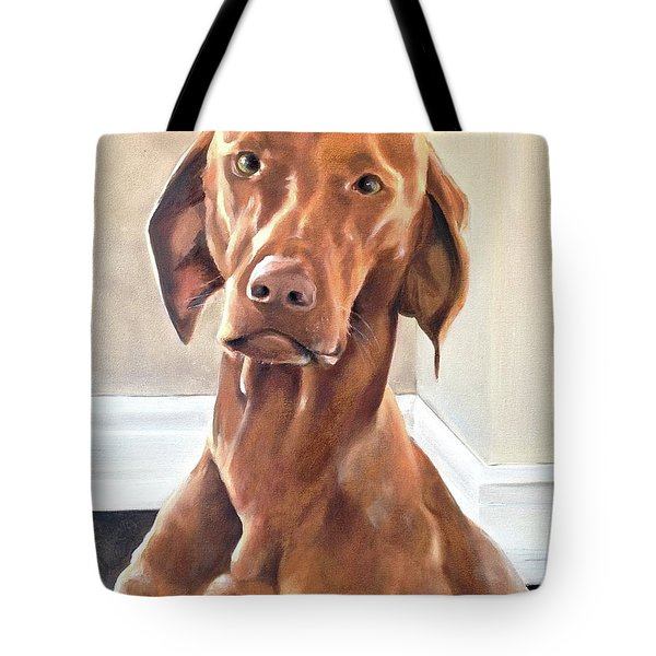 Oliver Tote Bag by Diane Daigle