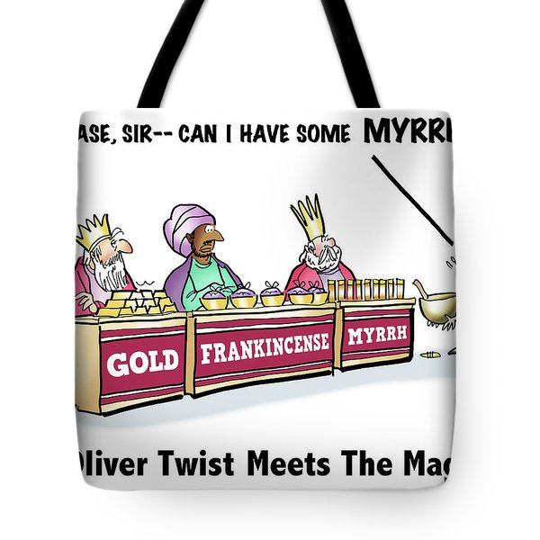 Oliver Wants Some Myrrh Tote Bag