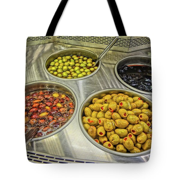 Olives Tote Bag by Bruce Iorio