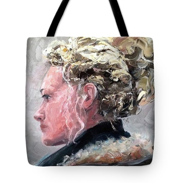 Olivia 2 Tote Bag by Diane Daigle