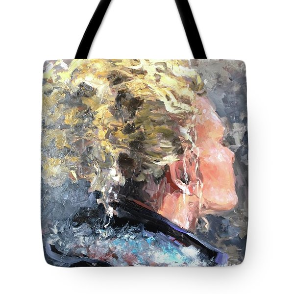 Olivia Tote Bag by Diane Daigle