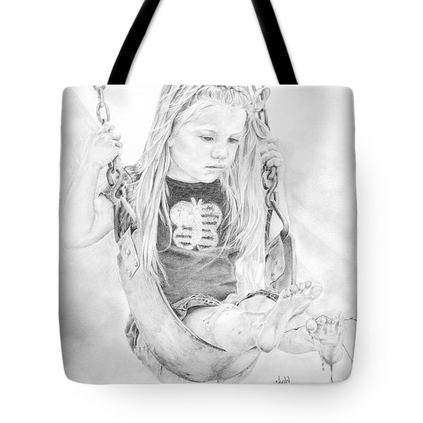 Olivia Tote Bag by Shevin Childers