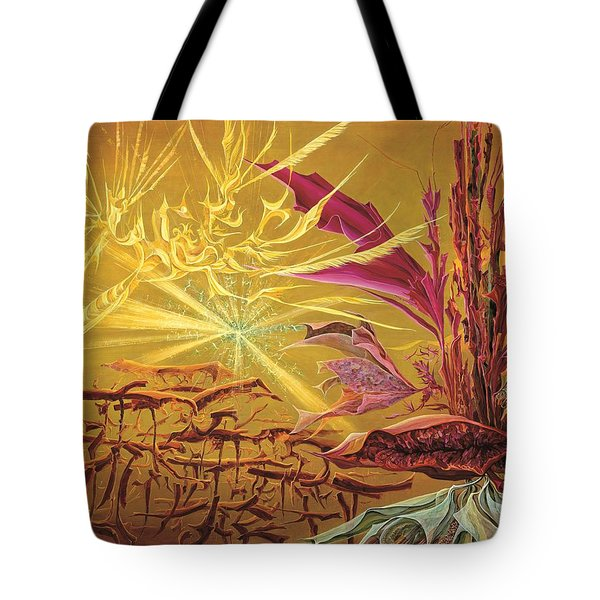 Olivier Messiaen Landscape Tote Bag by Charles Cater