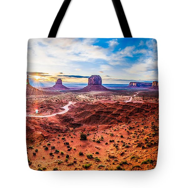 Oljato-monument Valley Tote Bag