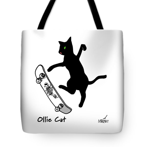 Ollie Cat Tote Bag