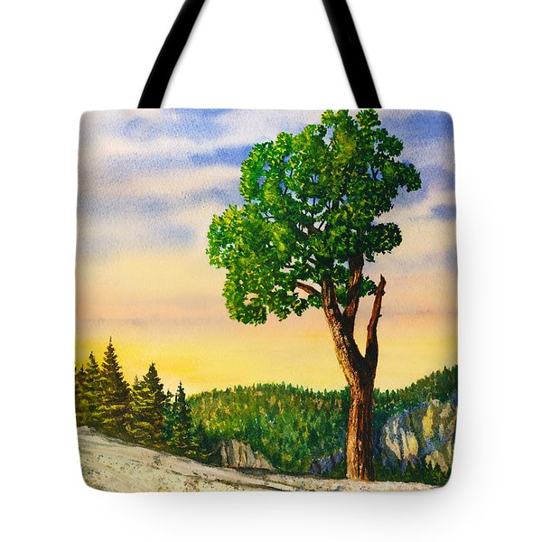 Olmsted Point Tree Tote Bag