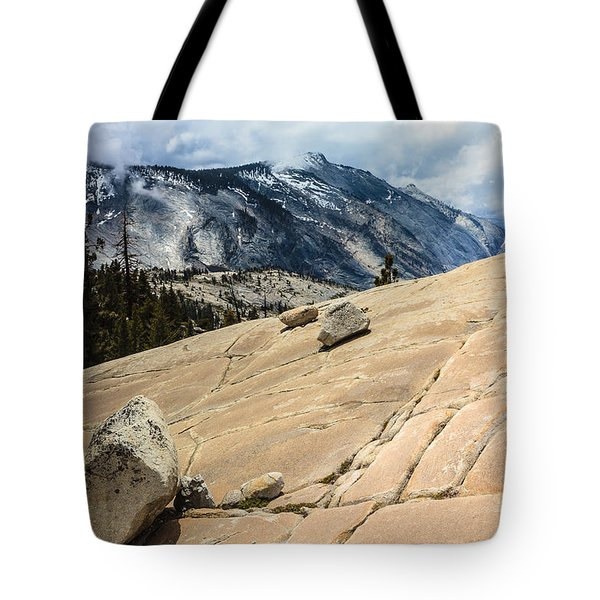 Olmsted Point Yosemite Tote Bag