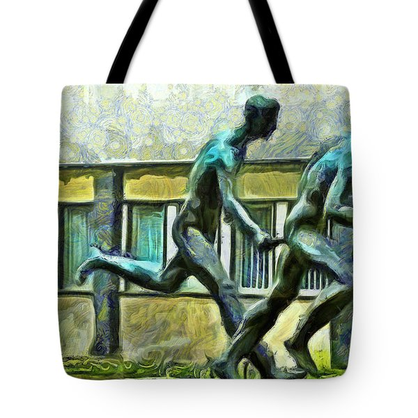 Olympic Athletes - Pa Tote Bag