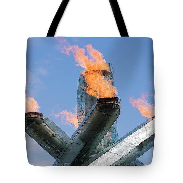 Olympic Cauldron Tote Bag