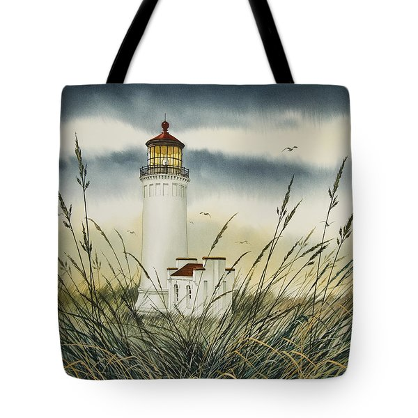 Olympic Coast Sentinel Tote Bag by James Williamson