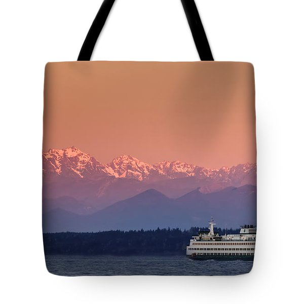 Olympic Journey Tote Bag