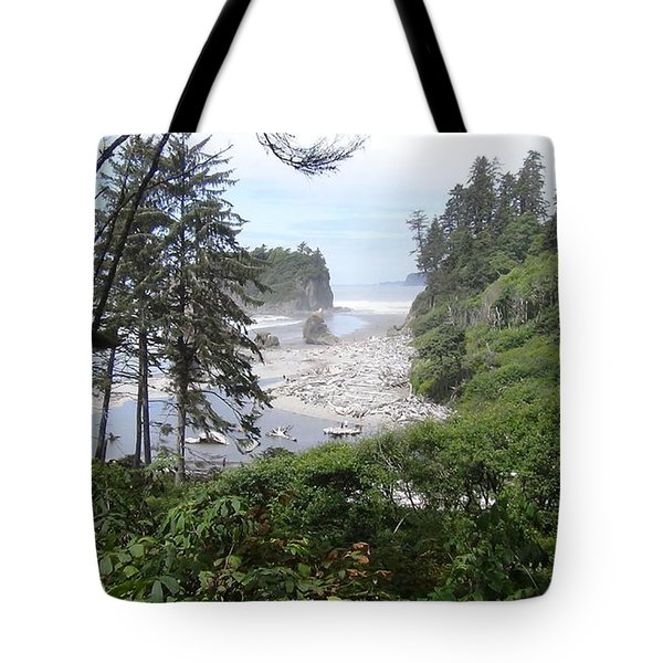 Olympic National Park Beach Tote Bag