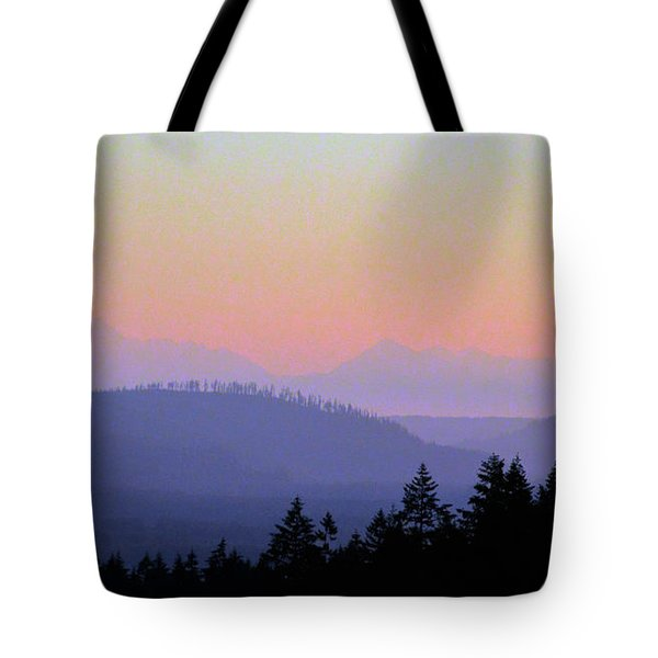 Olympic Silhouette Tote Bag