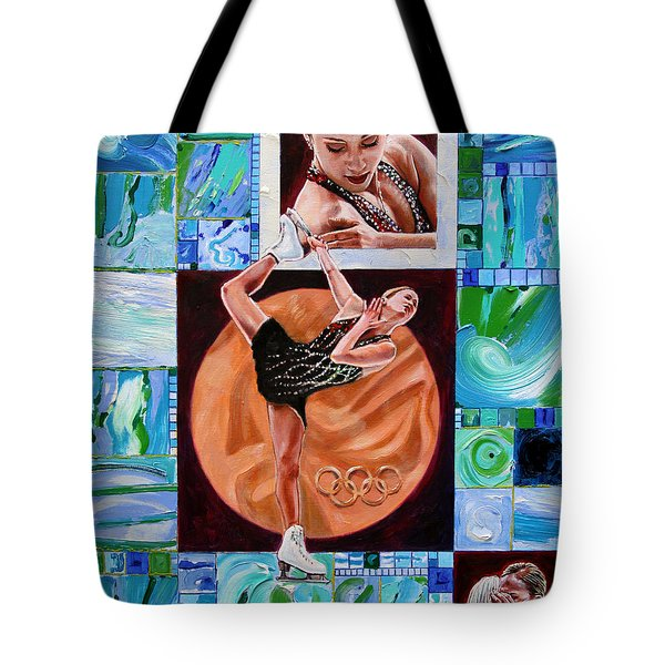 Olympic Spirit - Joannie Rochette Tote Bag