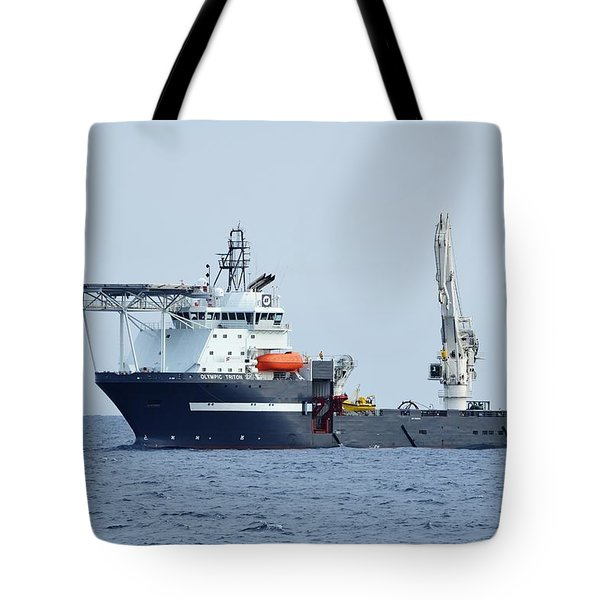 Olympic Triton Support Vessel Tote Bag