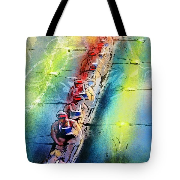 Olympics Rowing 02 Tote Bag