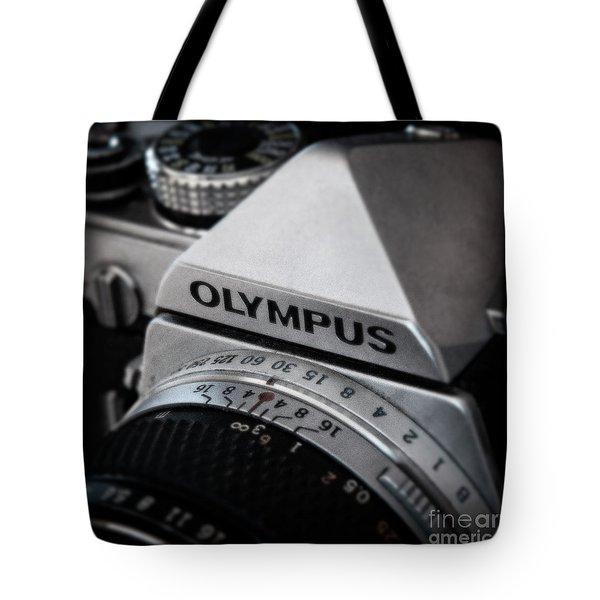 Tote Bag featuring the photograph Om-1 - D010028b by Daniel Dempster