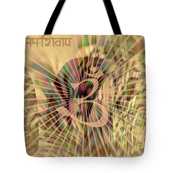 Om Enigma Tote Bag