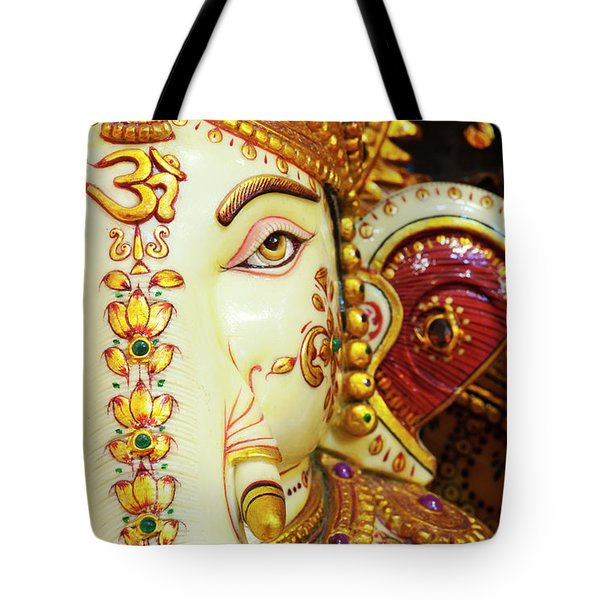 Tote Bag featuring the photograph Om Ganesha by Tim Gainey