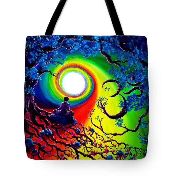 Om Tree Of Life Meditation Tote Bag