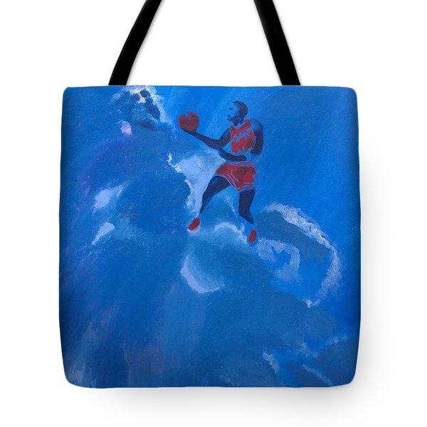 Omaggio A Michael Jordan Tote Bag