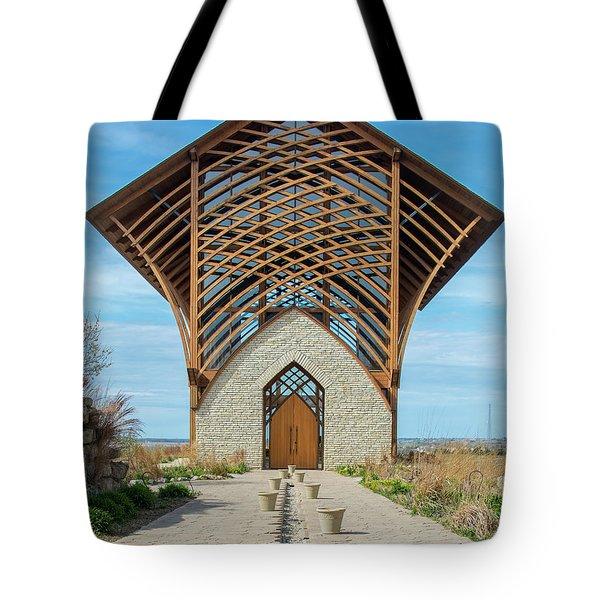 Omaha Holy Family Shrine Tote Bag