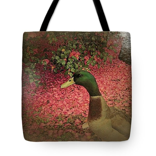 Tote Bag featuring the painting O'malley by YoMamaBird Rhonda