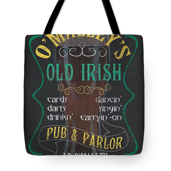 O'malley's Old Irish Pub Tote Bag