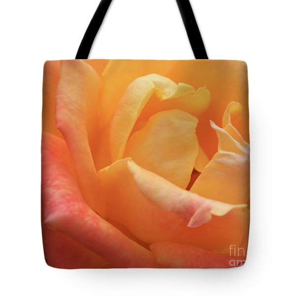Ombre Rose Tote Bag