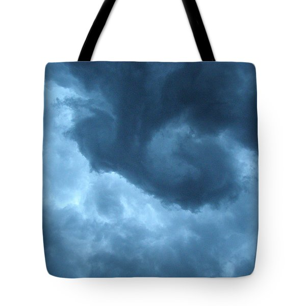 Tote Bag featuring the photograph Ominous  by Angie Rea