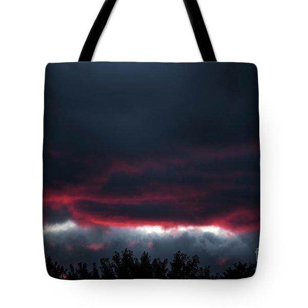 Ominous Autumn Sky Tote Bag