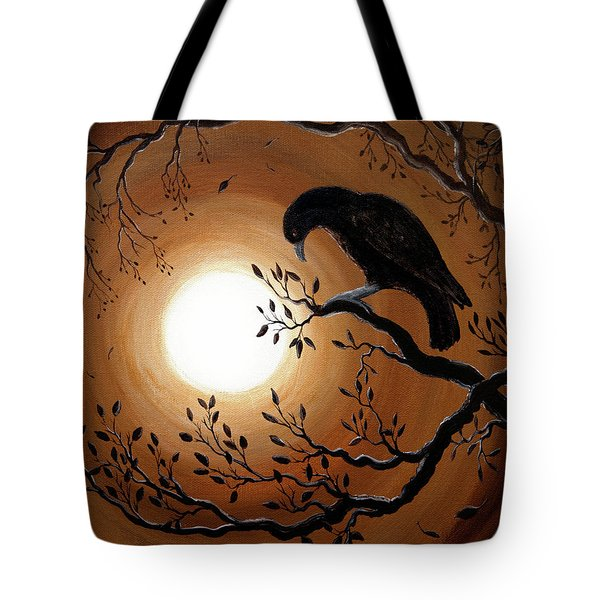 Ominous Bird Of Yore Tote Bag